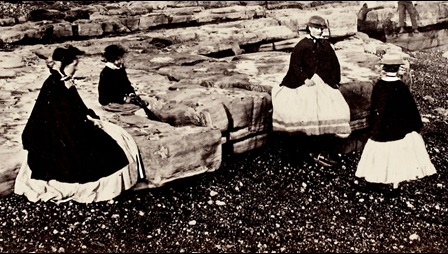 Photograph of Victorian women