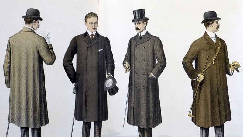 Illustrations of Victorian gentlemen