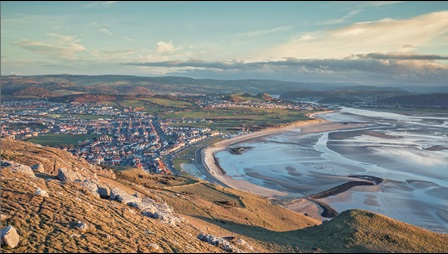 Photograph of Welsh coastline