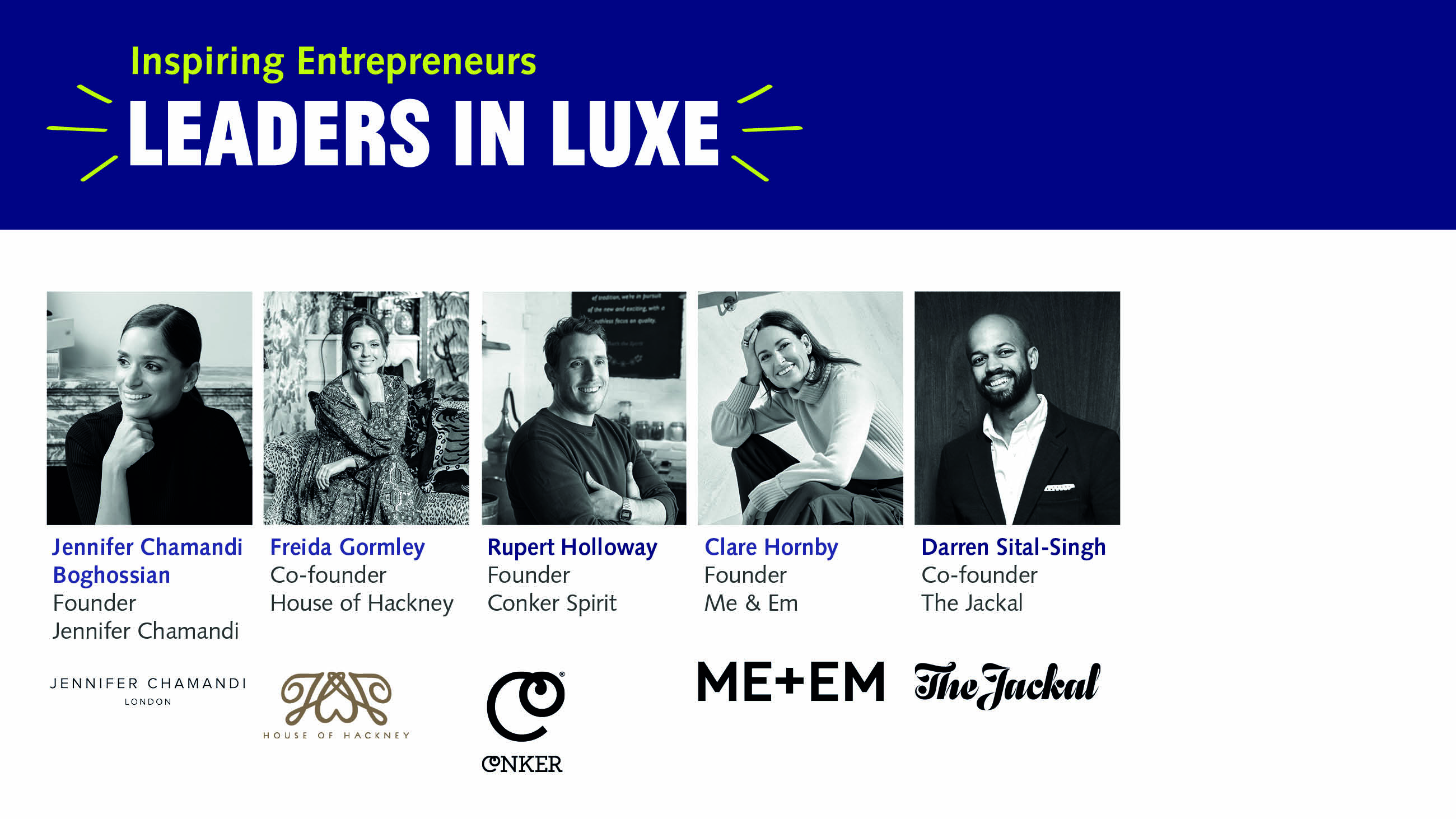 Leaders in Luxe panel