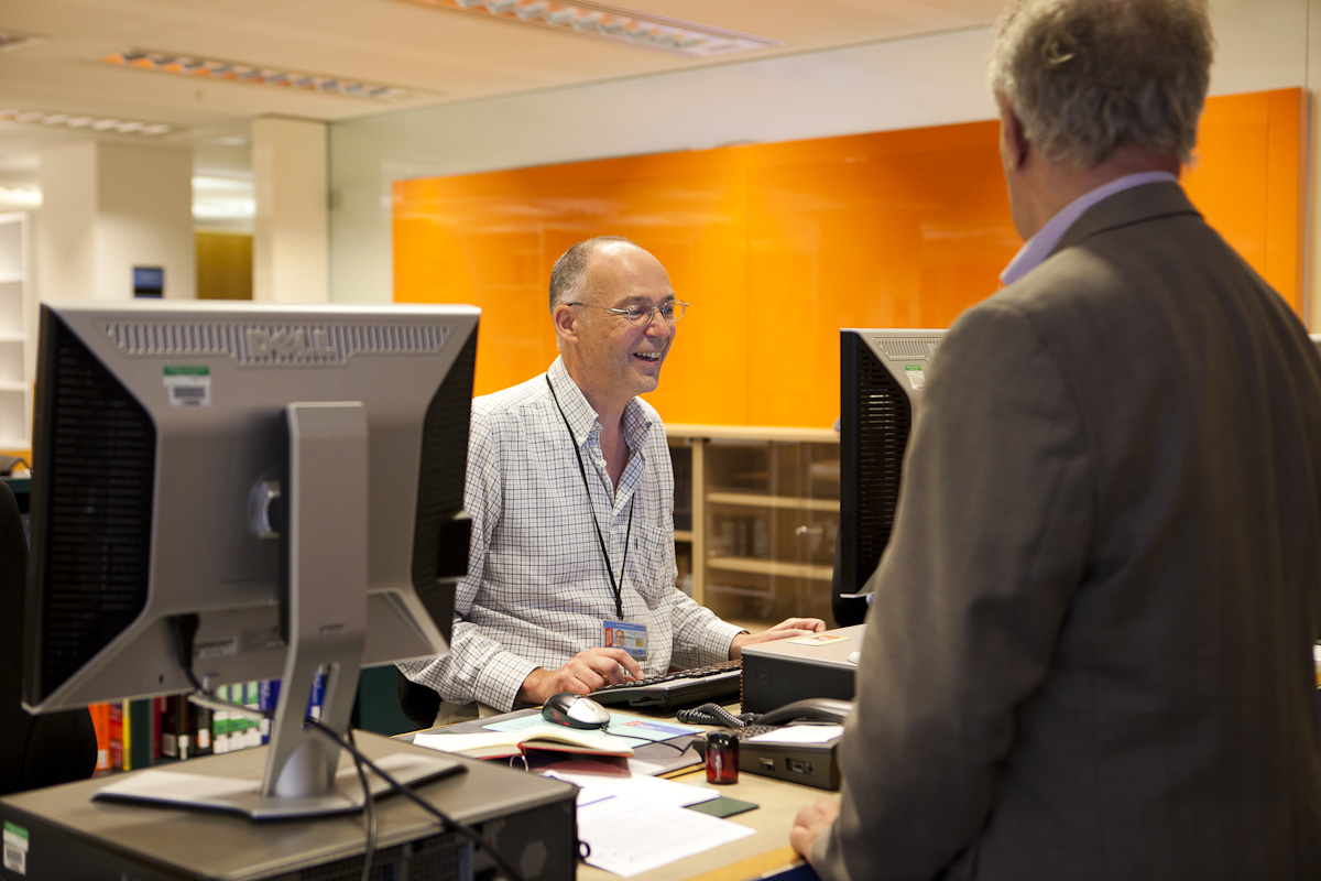 User in the Business and IP Centre