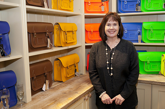 Julie Famously Founded The Cambridge Satchel Company From Her Kitchen Table In Eight Years Ago With Only 600 As A Means Of Paying School Fees