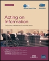 Acting on information: performance management for the public sector