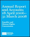 Annual report and accounts 18 April 2006-31 March 2008