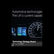 Automotive technologies: the UK's current capability