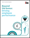 Beyond the bonus: driving employee performance