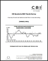 CBI quarterly SME trends survey: January 2005