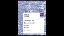 Challenges and opportunities for growth survey