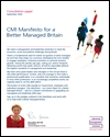 CMI manifesto for a better managed Britain