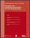Company law, corporate governance and the banking crisis