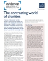 The contrasting world of charities