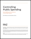 Controlling public spending; pay, staffing and conditions in the public sector