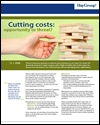 Cutting costs: opportunity or threat
