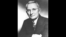 Dale Carnegie: How to win friends and influence people thinker
