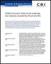 Economic and business outlook December 2011: Euro crisis overhangs growth outlook