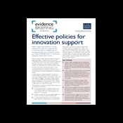 Effective policies for innovation support