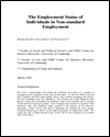 The employment status of individuals in non-standard employment
