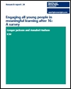 Engaging all young people in meaningful learning after 16: a survey