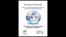 Enough is enough: ideas for a sustainable economy in a world of finite resources