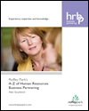 Experience, expertise and knowledge: Roffey Park's A-Z of human resources business partnering