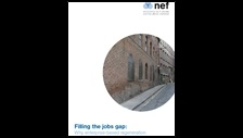 Filling the jobs gap: why enterprise-based regeneration is not working