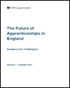 The future of apprenticeships in England: guidance for trailblazers