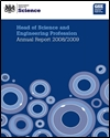 Head of science and engineering profession: annual report 2007-08