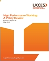 High performance working: a policy review