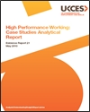 High performance working: case studies analytical report