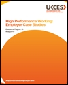 High performance working: employer case studies