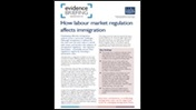 How labour market regulation affects immigration