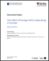 The HRM of foreign MNCs operating in Europe