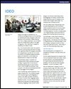 Ideo management innovation case study