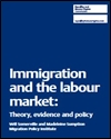 Immigration and the labour market: theory, evidence and policy
