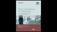 The importance of meetings: how the structure of meetings affects strategic change in organisations