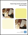 Image of Improving social and health care services cover