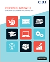 Inspiring growth: CBI/Pearson education and skills survey 2015
