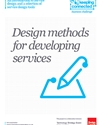 Keeping connected: design methods for developing services
