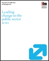Leading change in the public sector