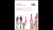 Leading with political awareness: developing leaders' skills to manage the political dimension across all sectors: summary