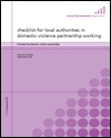 learning from domestic violence partnerships: a study of a programme of engagement and support to local domestic violence partnerships