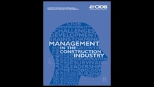 Management in the construction industry