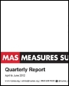 Manufacturing Advisory Service National Barometer quarterly report: April-June 2012