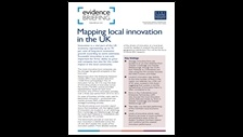 Mapping local innovation in the UK