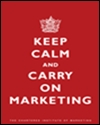 Marketing in a recession: keep calm and carry on marketing