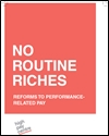 No routine riches: reforms to performance-related pay