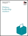 Politics: leadership matters