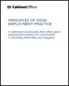 Principles of good employment practice