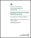 Prospects for the South West economy: second report of session 2009–10