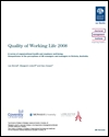 Quality of working life 2008: a survey of organisational health and employee well-being